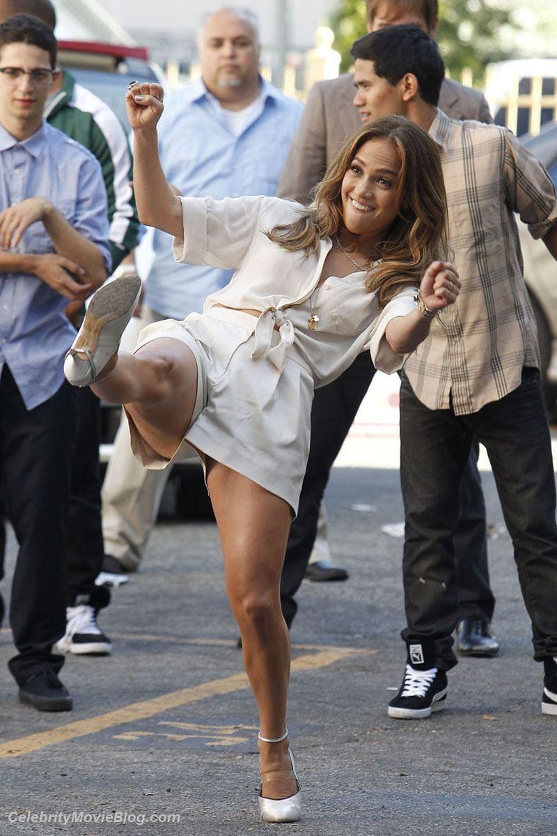 Фейки с жопастой латиноамериканской знаменитостью Дженнифер Лопез