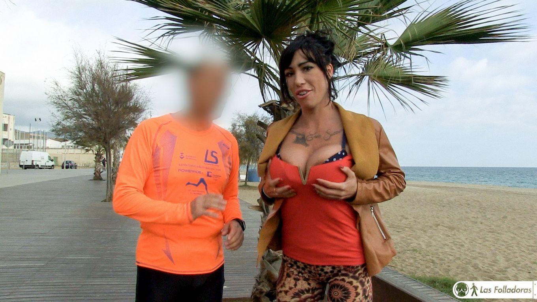 Хардкор с татуированной испанской порнозвездой