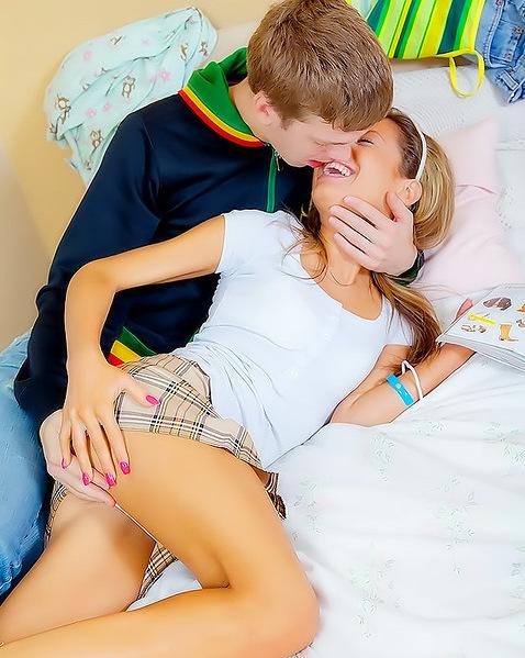 Первый секс подростков