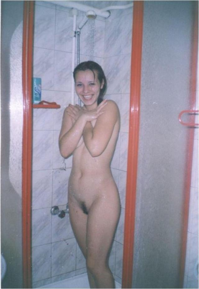 Домашняя подборка ретро снимков обнажённых девиц